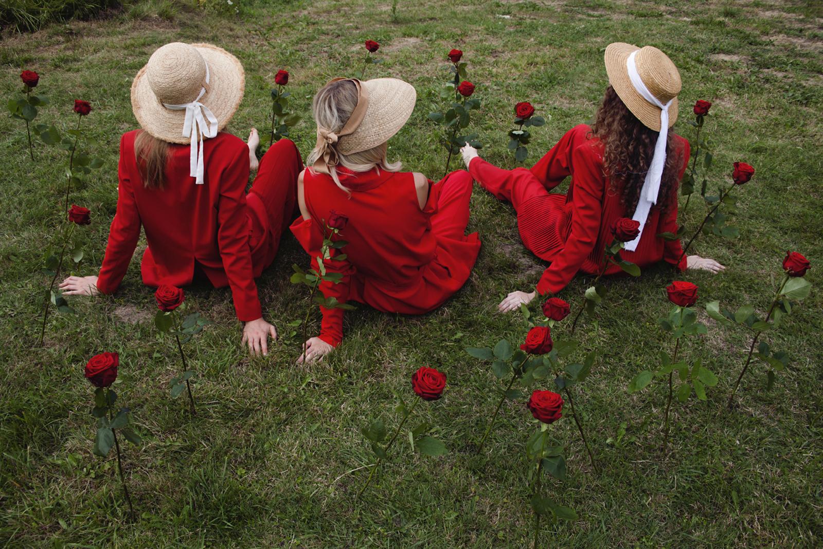 porta nova red naomi flower chef art photography