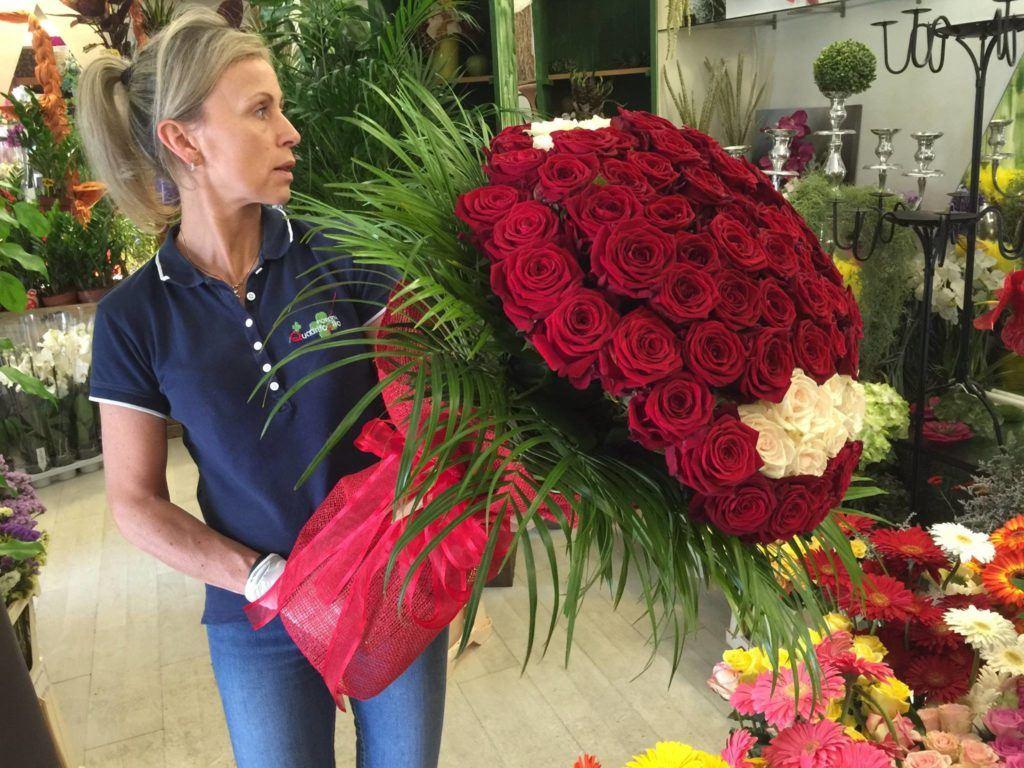 Higher sales Porta Nova Red Naomi Fioreria Quadrifoglio