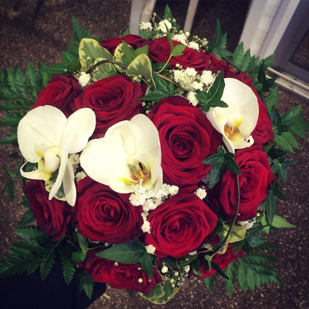 florists competition bouquet design porta nova red naomi