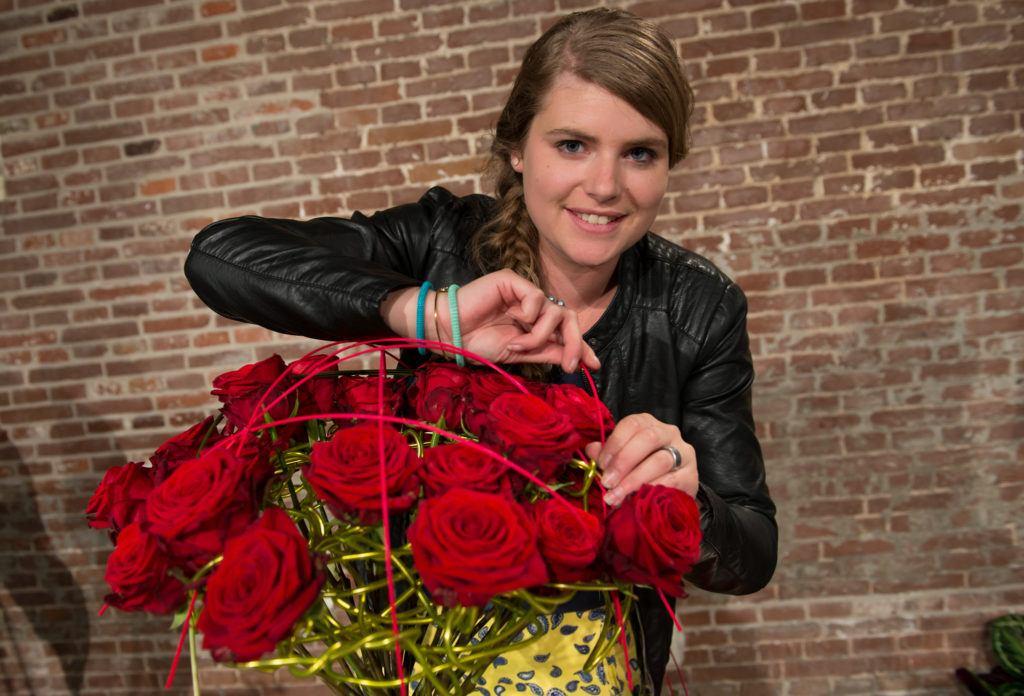 Porta Nova Red Naomi bouquet by Hanneke Frankema