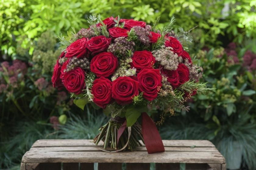 Дизайнерские букеты роз