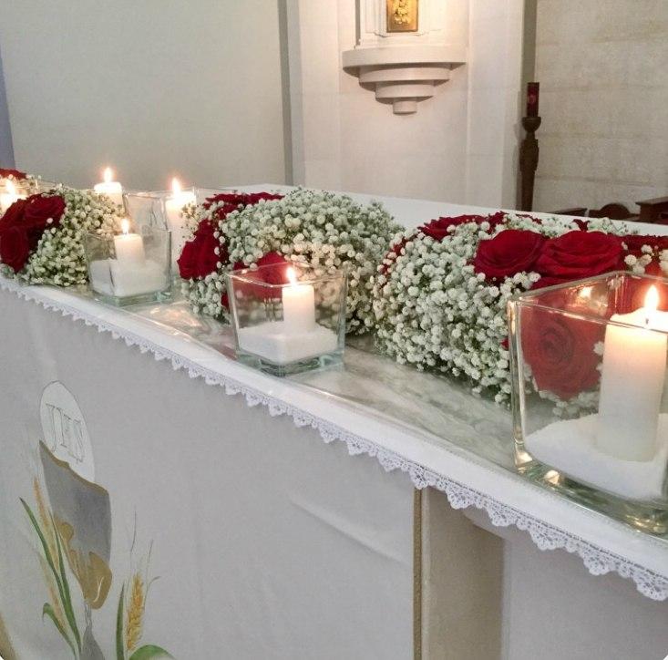 Angelica Lacarbonara's Porta Nova Red Naomi Wedding & her love for Floral Design