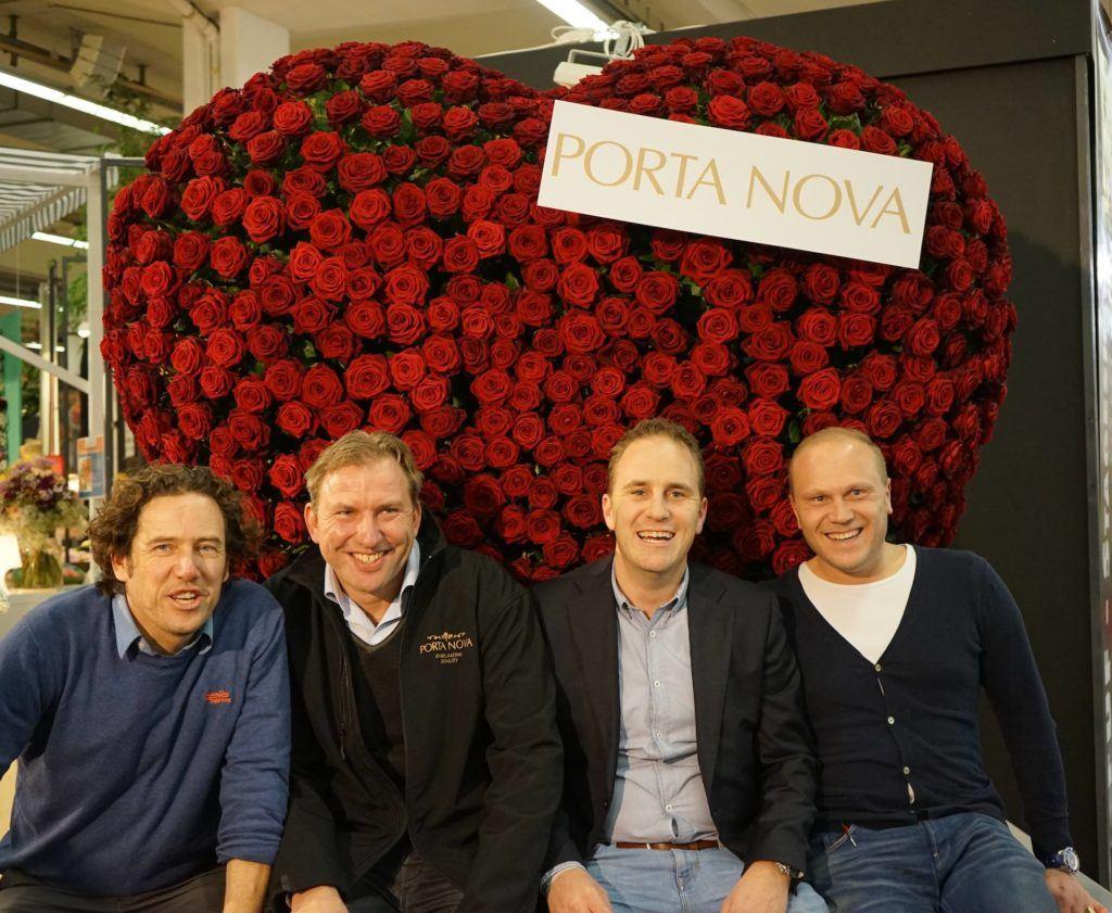 Porta Nova team at Tradefair in Aalsmeer 2017 1