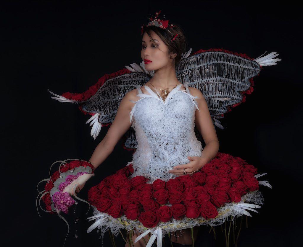 Porta Nova Floral Dress Cyrille Ribet