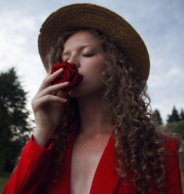Valentine's day designs with porta nova red naomi 114
