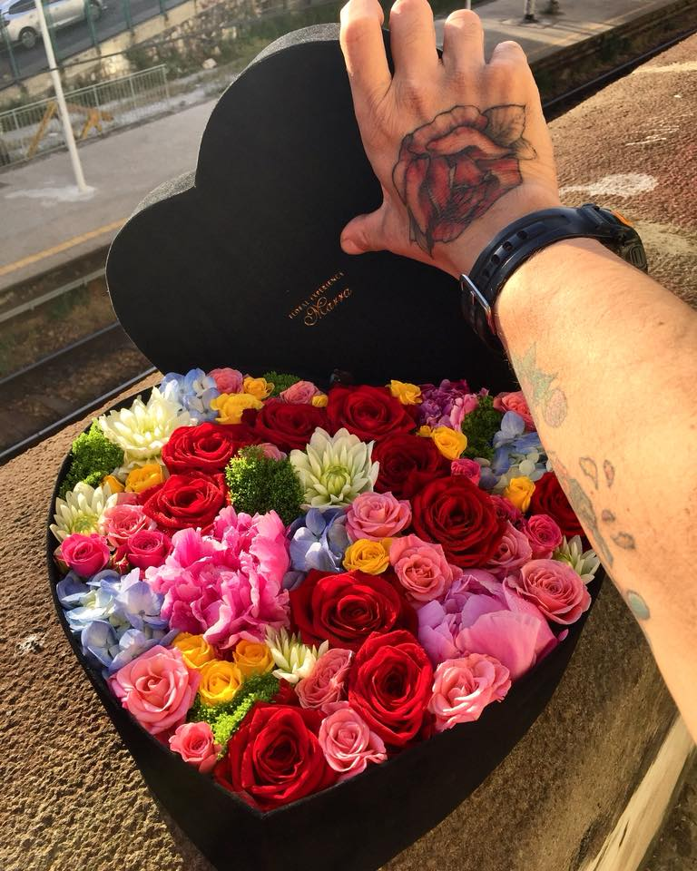 MICHELE MARRA PORTA NOVA FLOWERBOX bouquet 343
