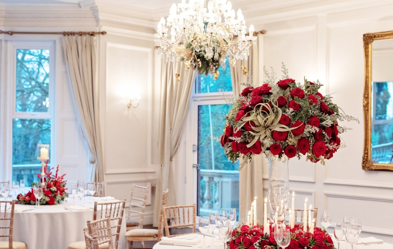 Sarah Crookstone porta nova Christmas red naomi dinner table 18