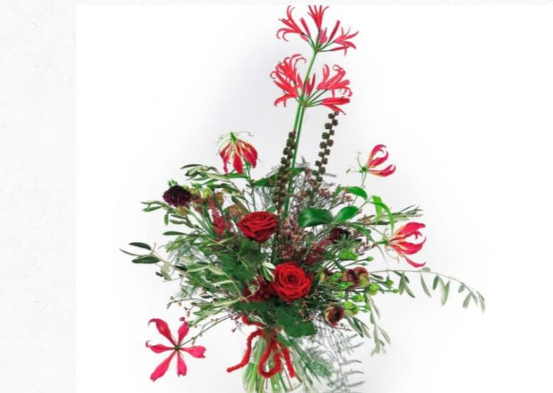 Reka Kurtos Valentine's Day Floral Fundamentals Porta Nova red naomi