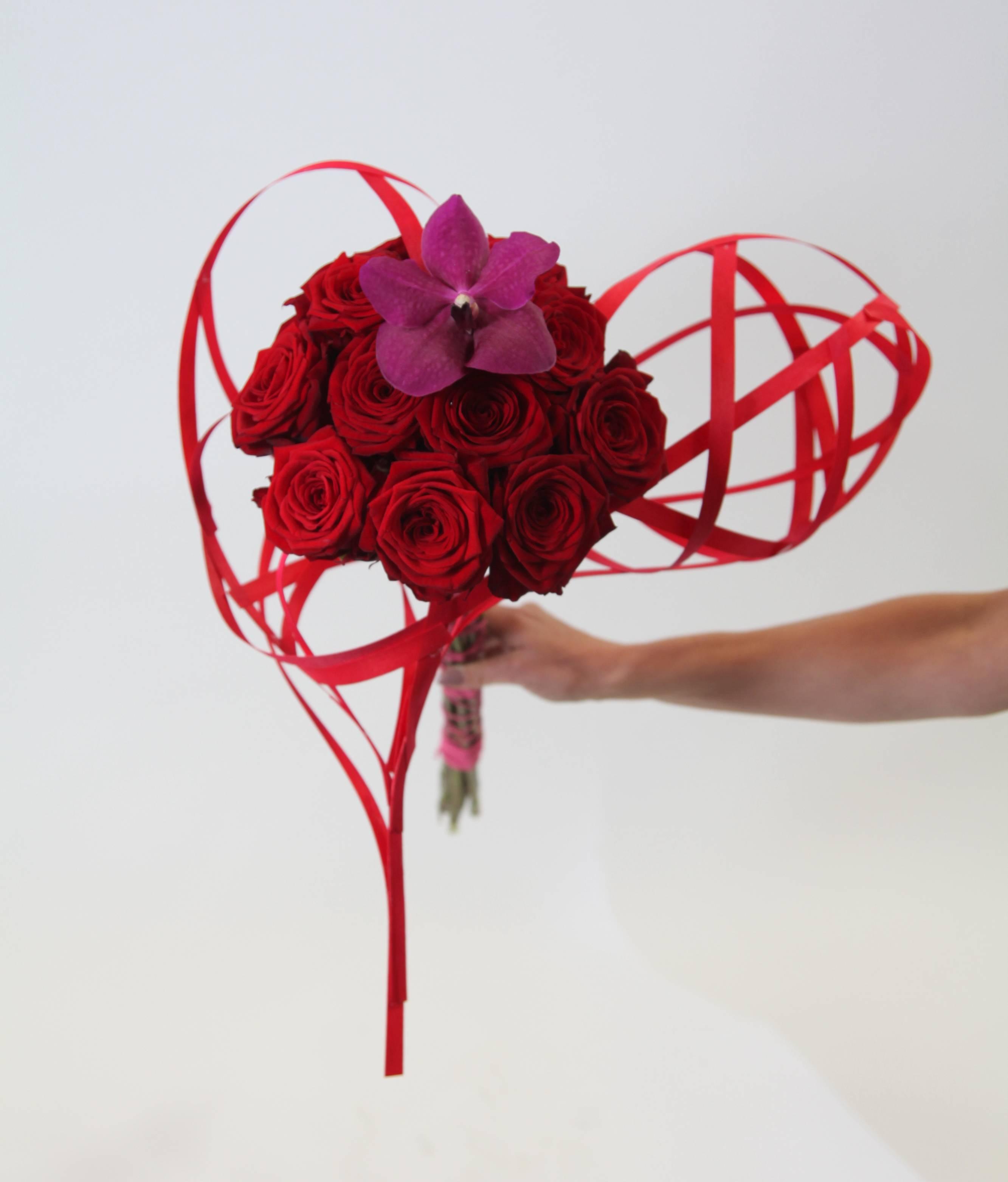 Dan xavier porta nova red naomi valentines day design floral fundamantals