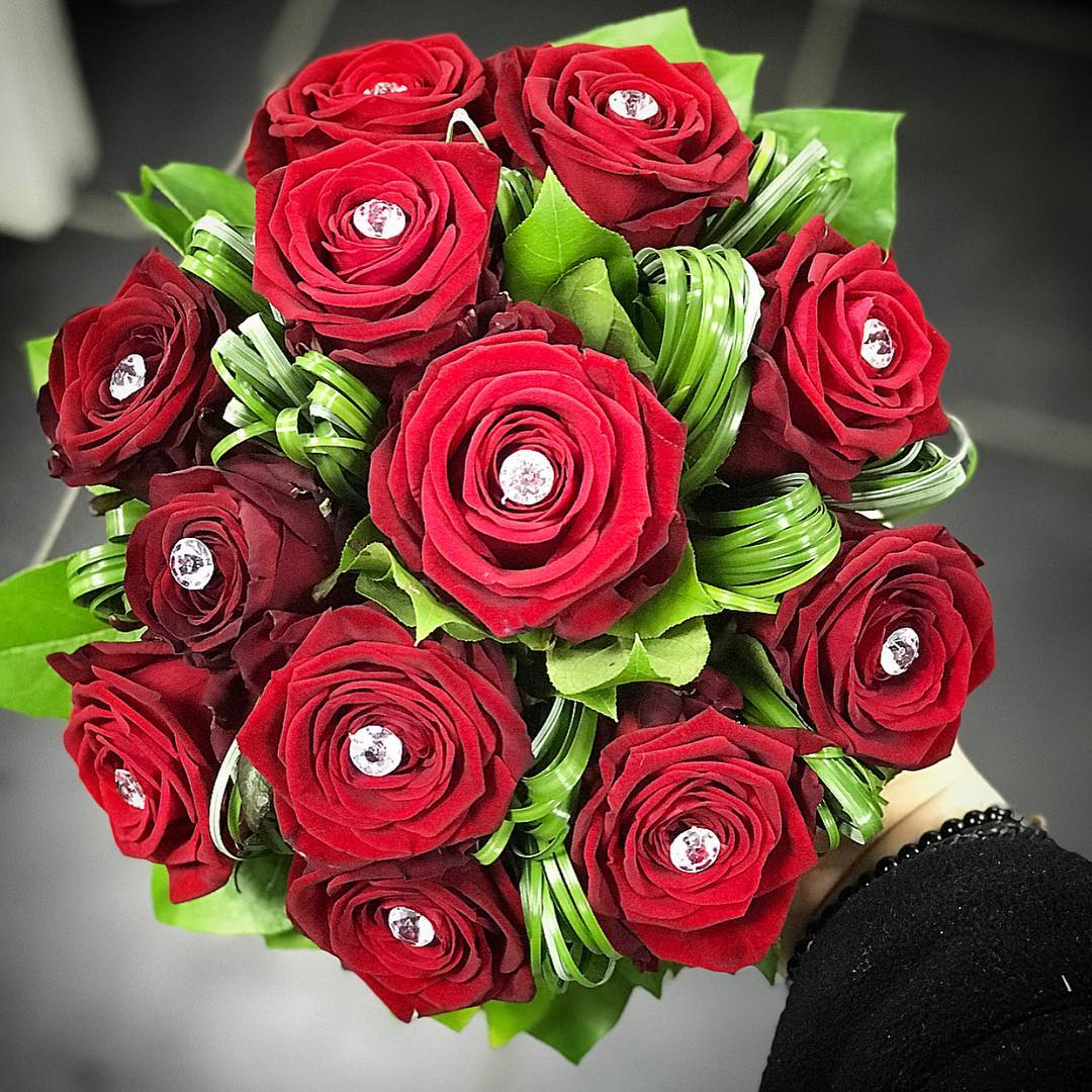 porta nova wedding bouquet Murat Murat Simsek Mon Fleuriste