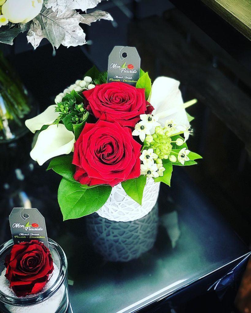 mon-fleuriste Porta Nova Red Naomi