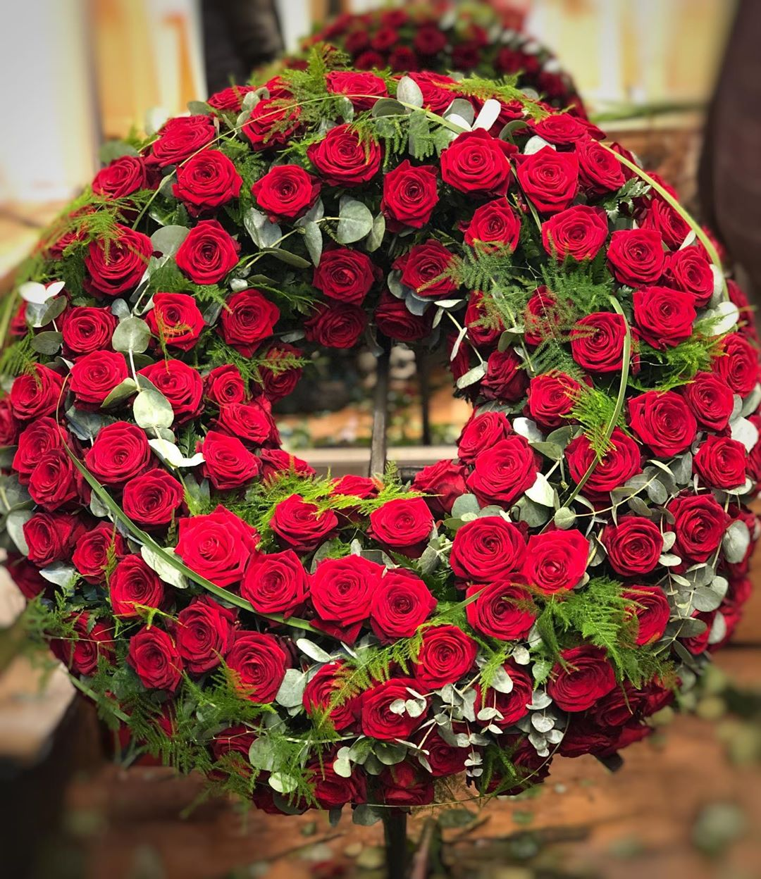 Amazing Porta Nova Sympathy Wreaths by Nadine Siegert 3