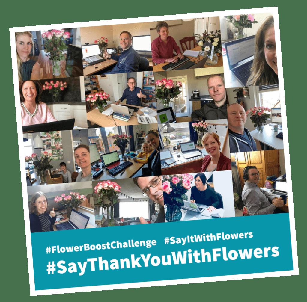 #sayThankYouWithFlowers #FlowerBoostChallenge #SayitWithFlowers