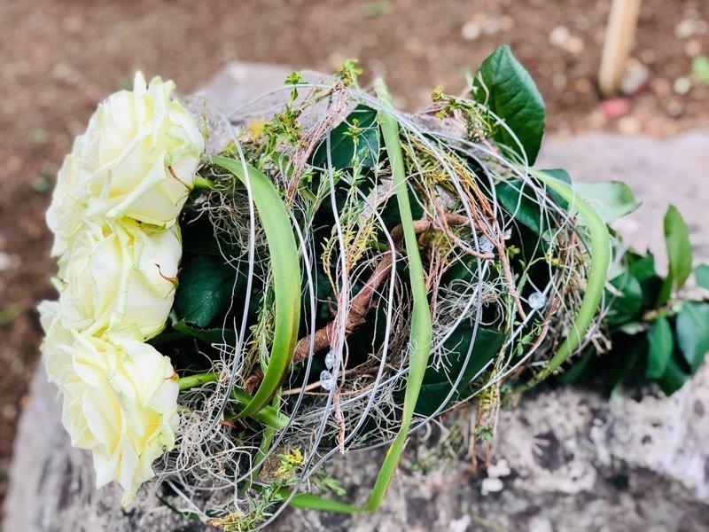 Stunning Porta Nova White Naomi Bouquets by Nadine Siegert