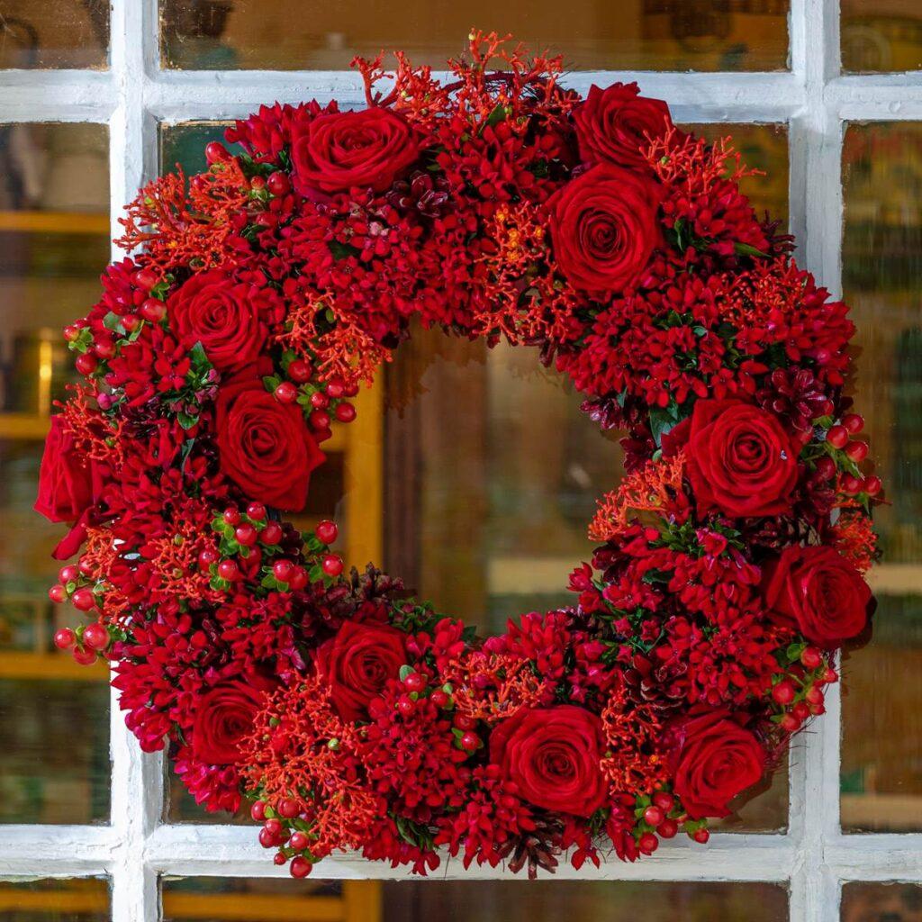 Ahti lyra Christmas porta nova floral fundamentals
