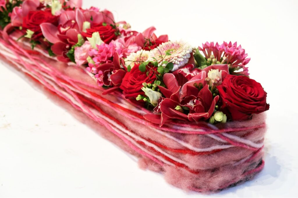 Jimmy's Floral Art finesse with Porta Nova roses