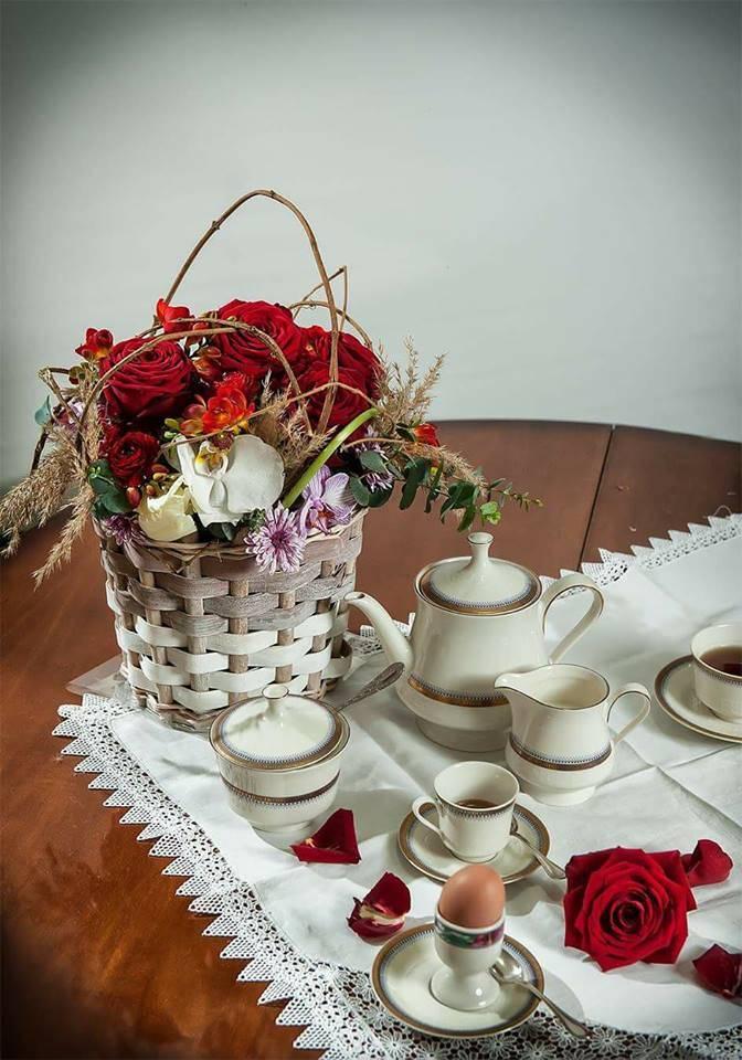 Easter table arrangment by Fabio sicurella