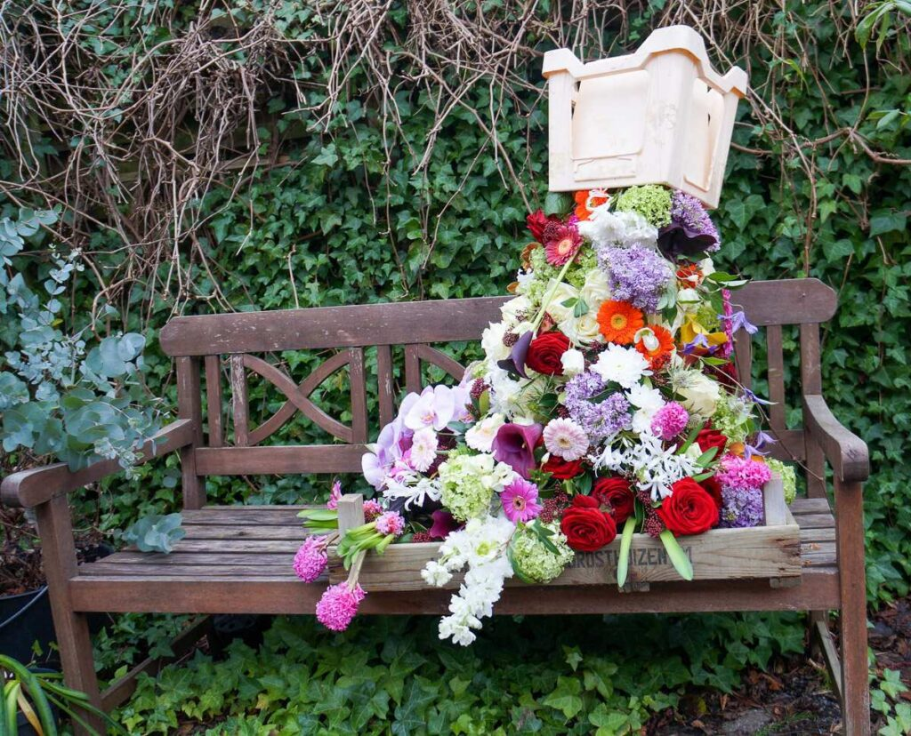 Linda red naomi design floral fundamentals 2