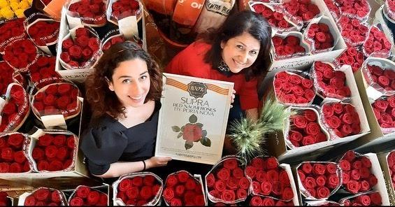 floristeria brisa porta nova red naomi five St Jordi's