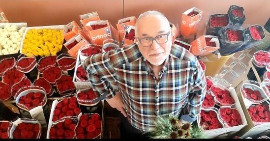 floristeria brisa porta nova red naomi two St Jordi's