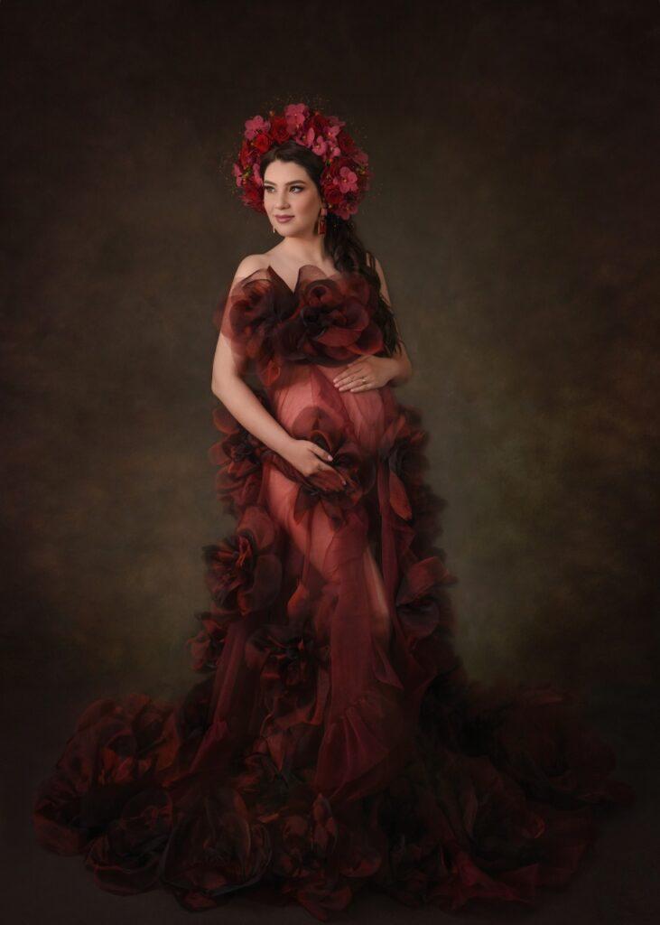 claudia tararache red naomi unica crown creativity 6