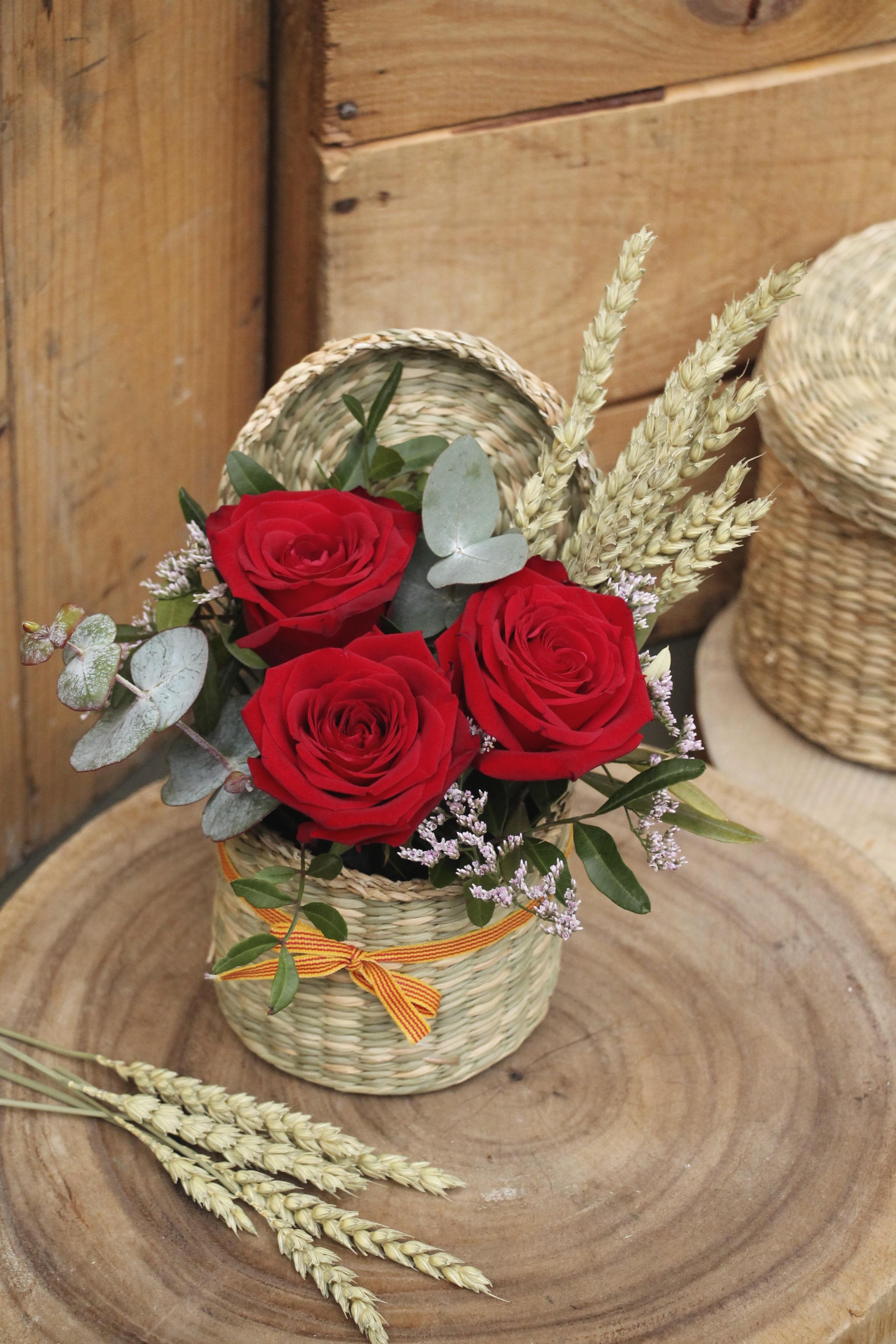 Porta Nova Red Naomi St Jordi's Day