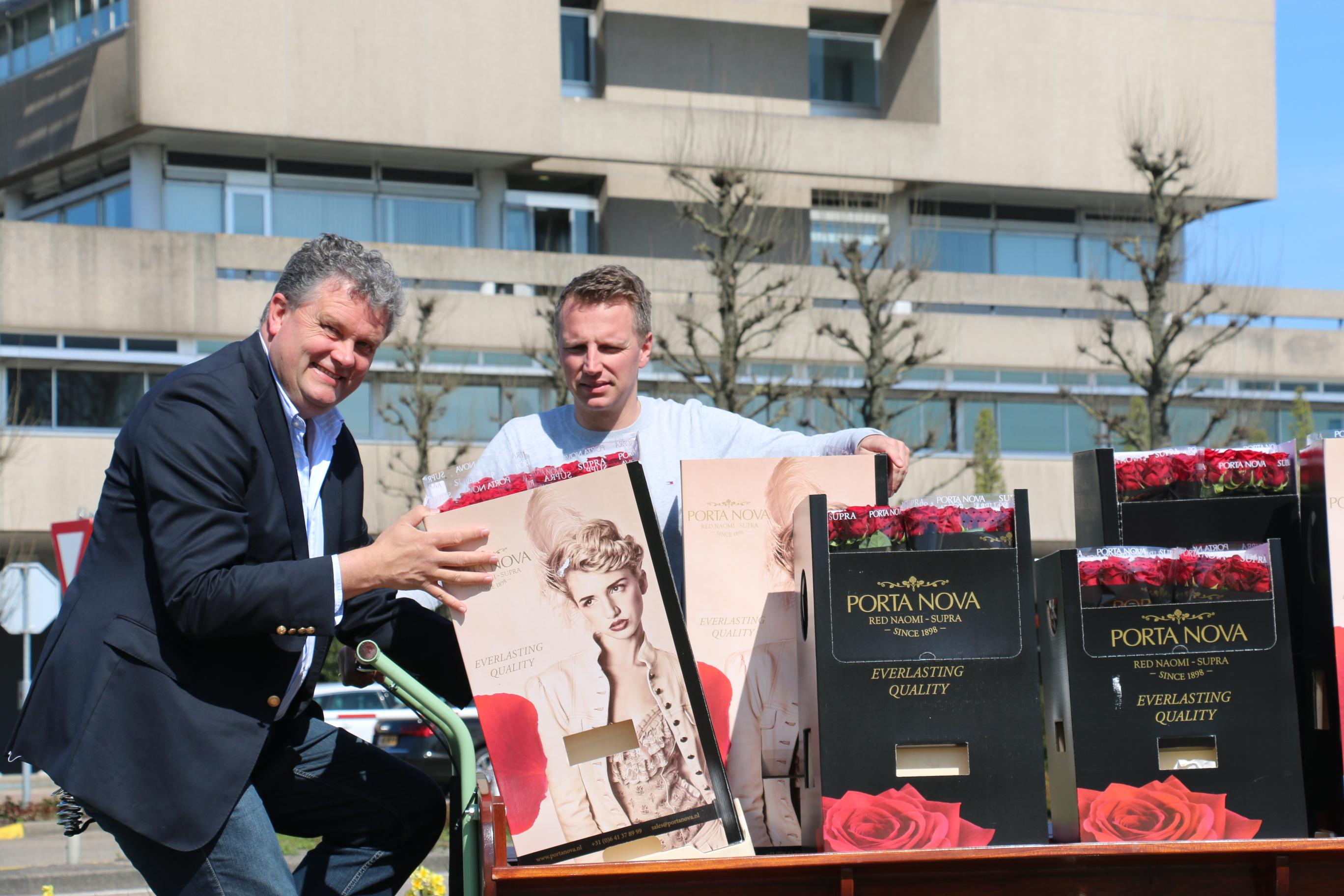 Porta Nova Red Naomi rose Barendsen St Jordi's Day