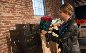 Porta Nova Red Naomi bouquet by Hanneke Frankema Floral Tweet Jam