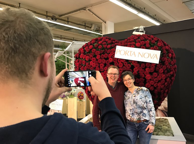 Porta Nova Red Naomi heart at IPM essen 2017