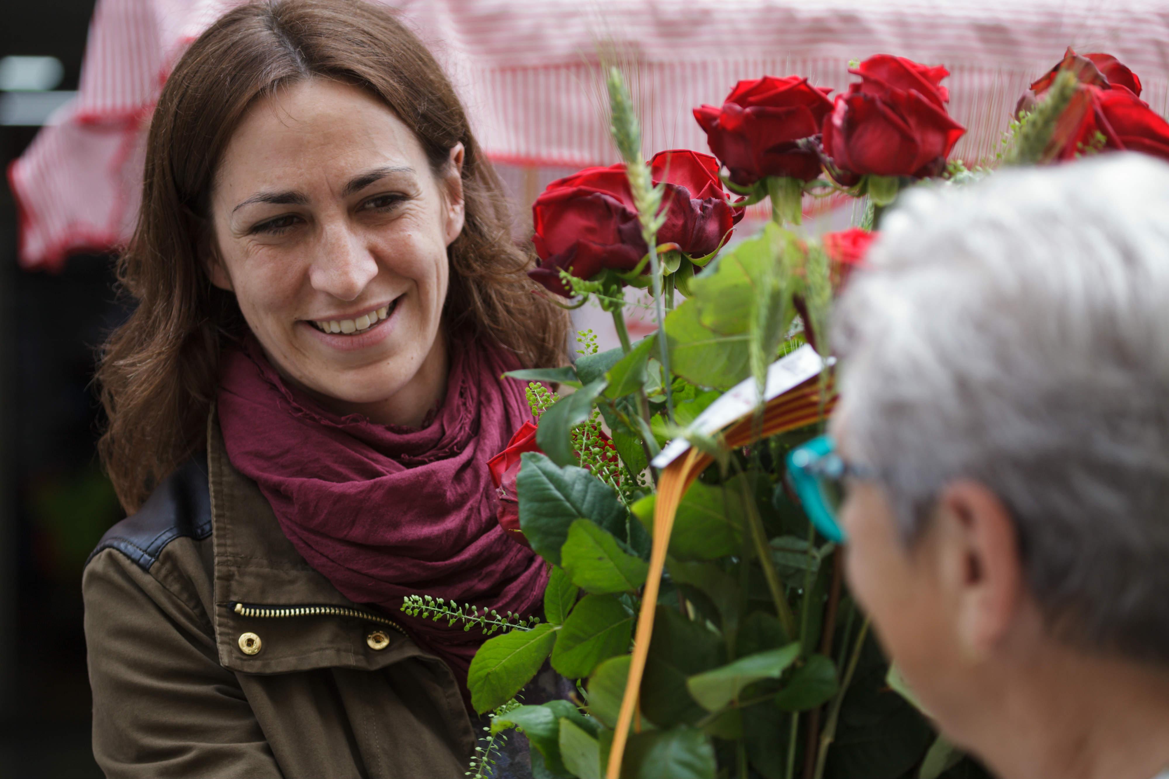 St Jordi's Day Carles Fontanilla Porta Nova 11