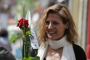 St Jordi's Day Carles Fontanilla Porta Nova 14
