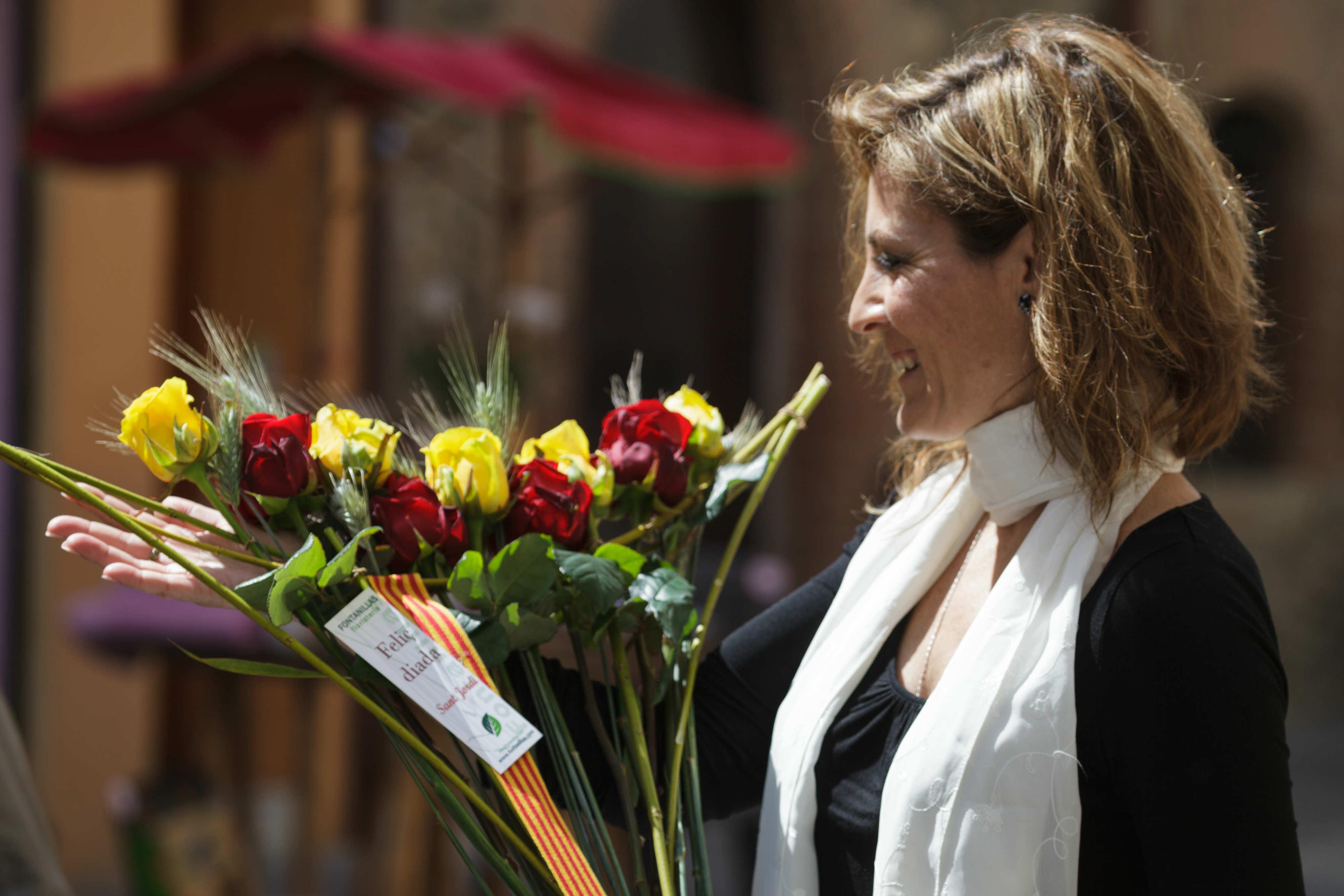 St Jordi's Day Carles Fontanilla Porta Nova 3