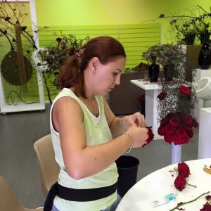 Red Naomi Porta Nova Araik Galstyan workshop