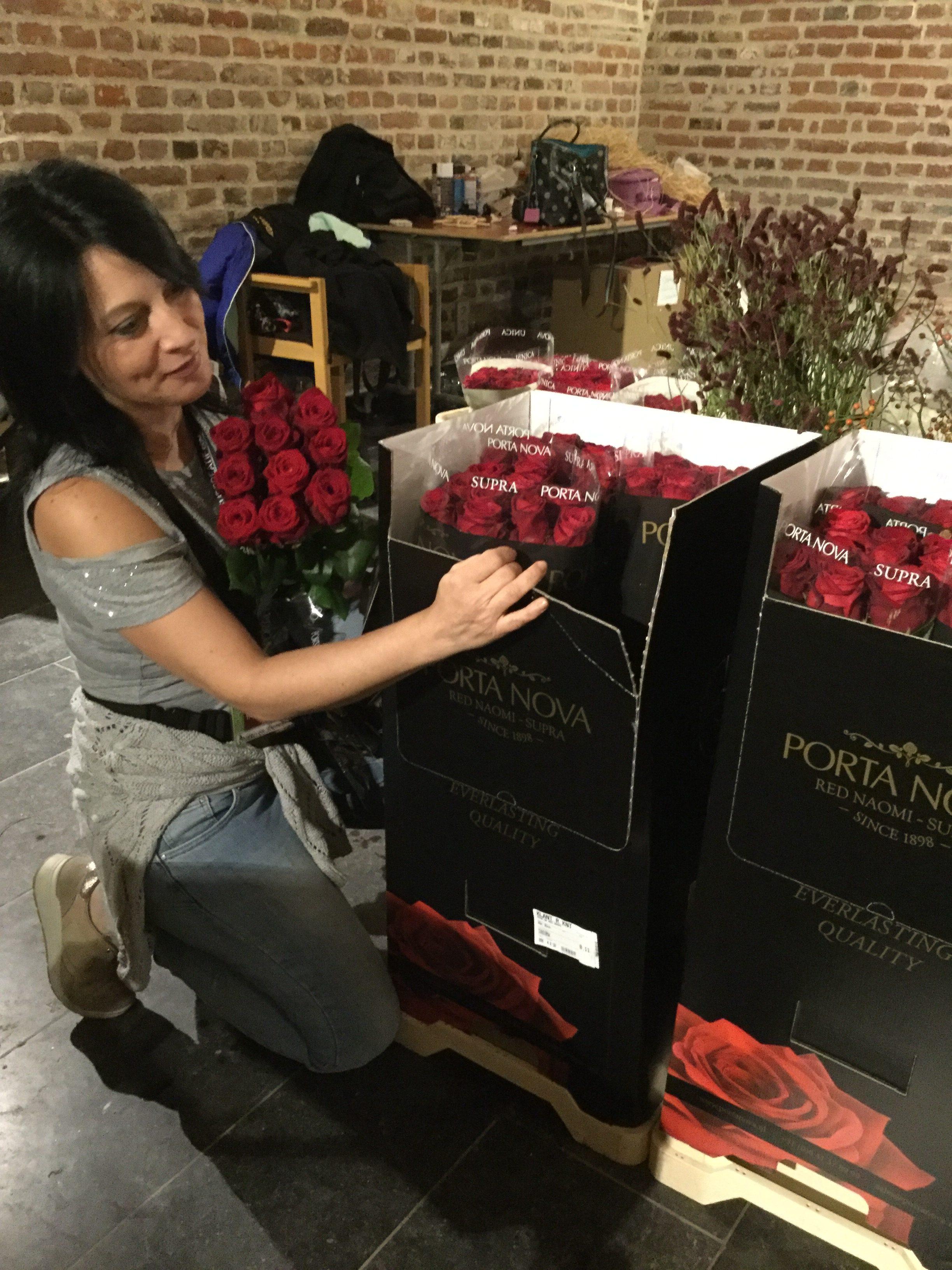 angelica lacarbonara fleuramour porta nova red naomi roses