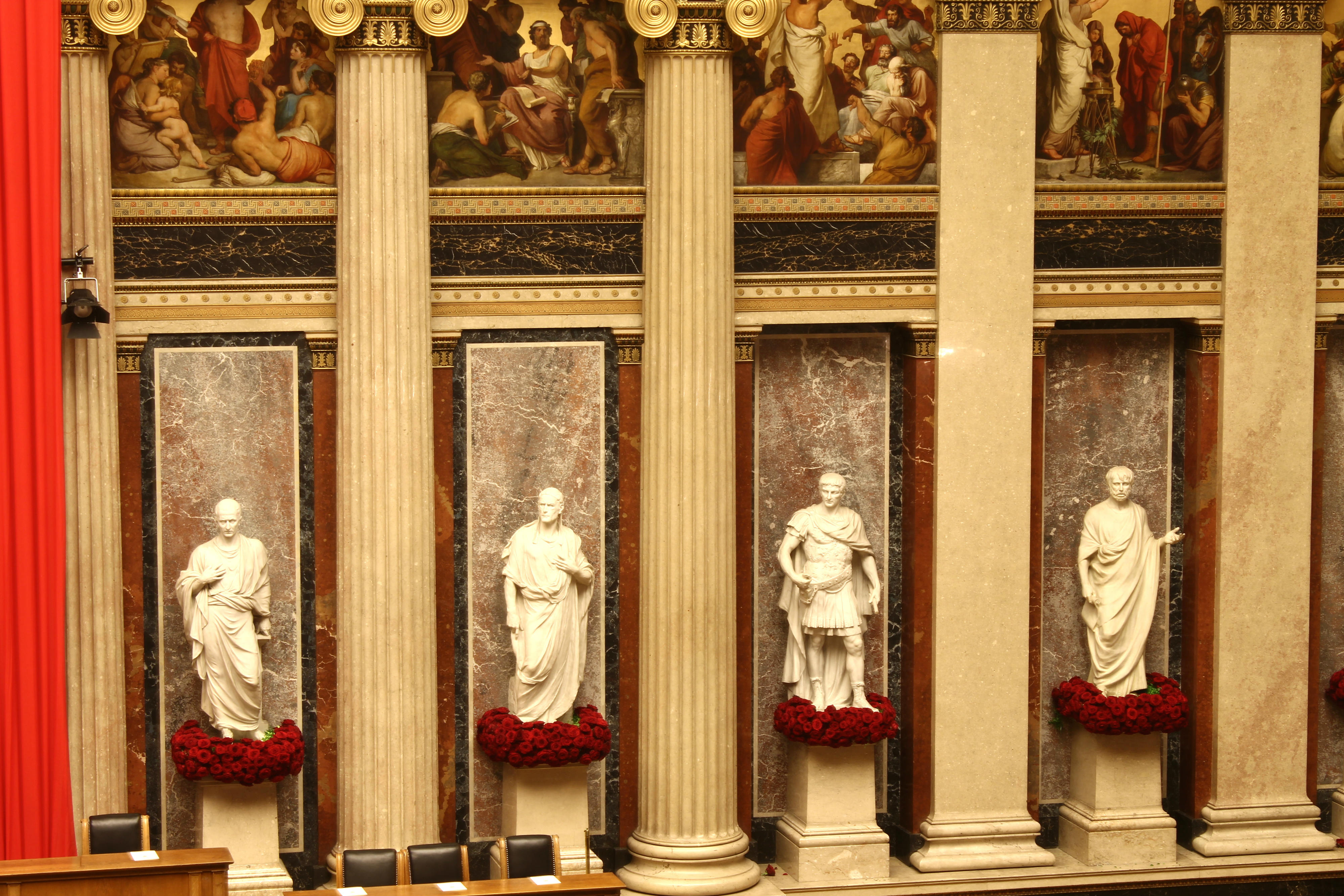Timo bolte Austrian President inauguration porta nova red naomi 4